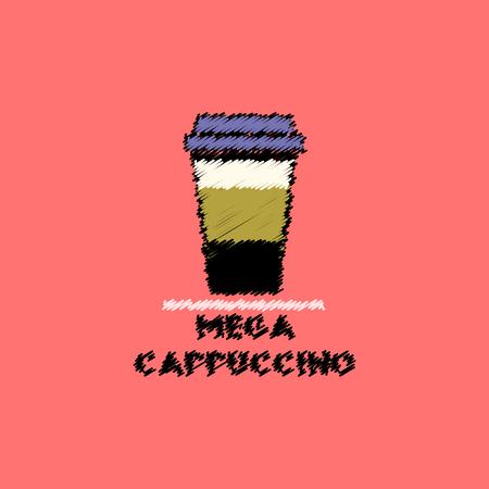 flat icon design collection  mega cappuccino