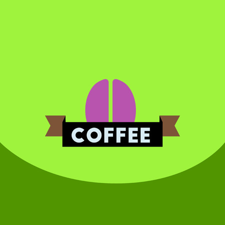 flat vector icon design collection sign of coffee beans