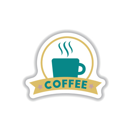 Label Frames and badges vector icon design collection coffee emblem