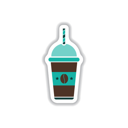 coffee to go: Label Frames and badges vector icon design collection coffee emblem coffee to go