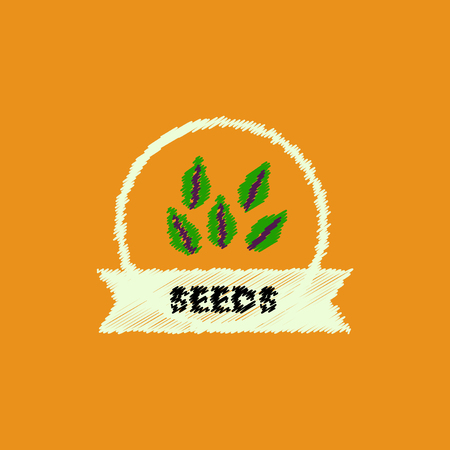 flat vector icon design collection Kitchenware seasoning seeds