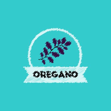 flat vector icon design collection Kitchenware seasoning oregano