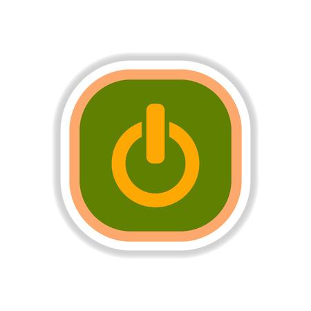 color label design vector icon design button music on off