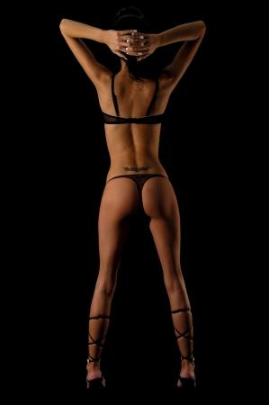 sensually: Beautyful woman