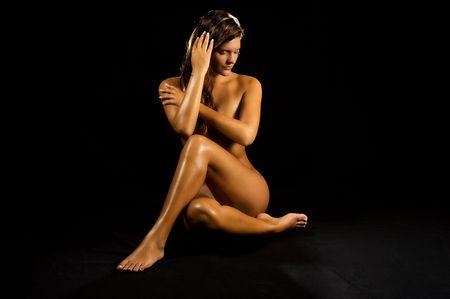 Una muy bella mujer Foto de archivo - 3557955
