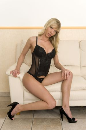 A very sexy young woman