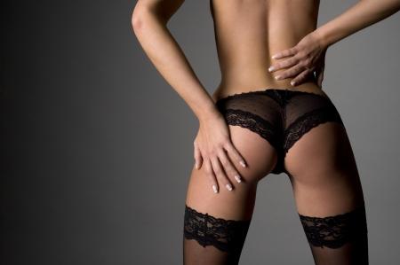 erotically: Backside of a sexy woman