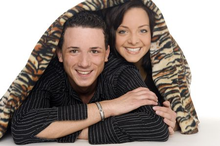 couple got fun together Stock Photo - 5529729