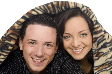 couple got fun together Stock Photo - 5529732