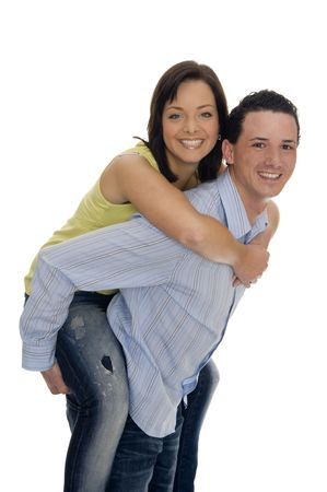 couple got fun together Stock Photo - 5529719