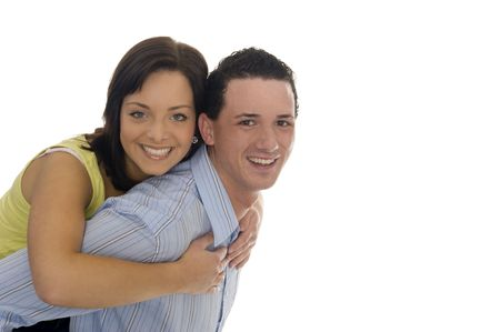 couple got fun together Stock Photo - 5529721