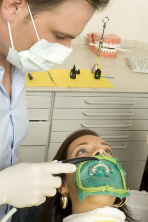 scaling: dentist Stock Photo