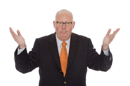 facilitator: businessman Stock Photo