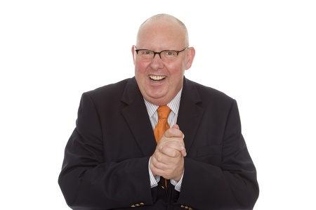 comunicacion no verbal: hombre de negocios