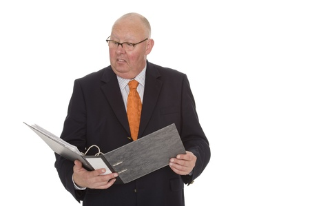 angriness: businessman Stock Photo