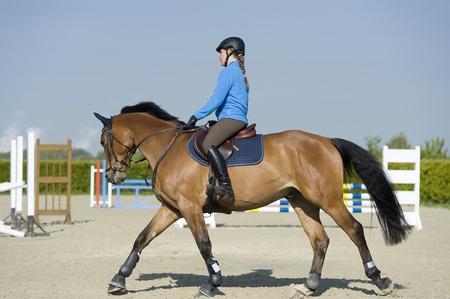 jumper: riding