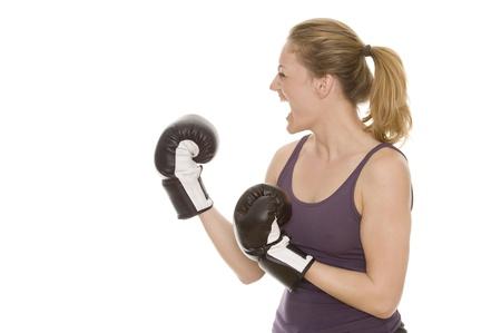 beat women: boxing