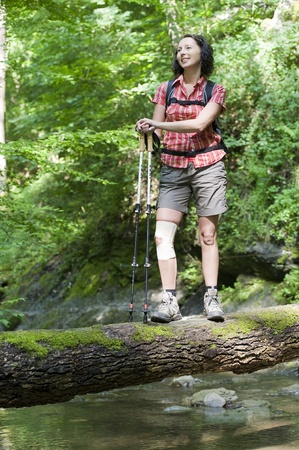 spare time: hiking Stock Photo