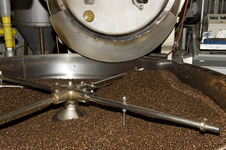 roasting: coffee