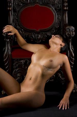 red breast: erotic
