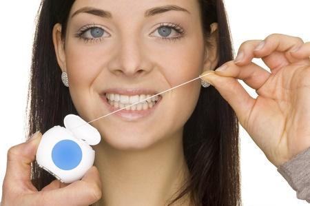 higiene oral: higiene oral Foto de archivo