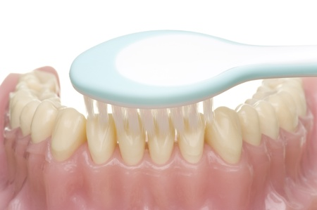 tooth decay: oral hygiene Stock Photo