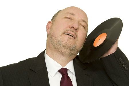 facilitator: disc jockey Stock Photo