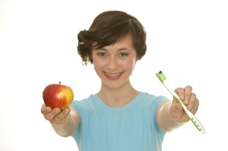 pneuma: oral hygiene Stock Photo