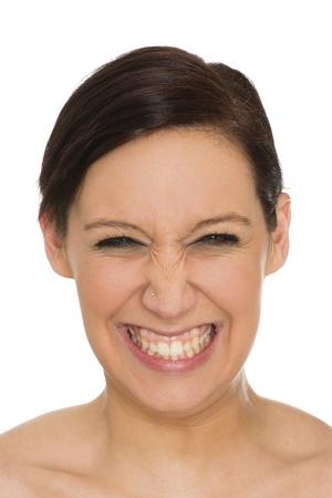 nonverbal communication: portrait Stock Photo