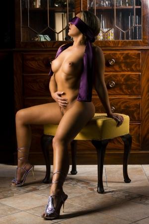 nude blond: erotic