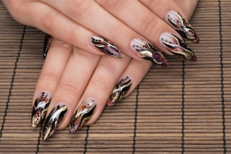 manicure Stock Photo - 17076627