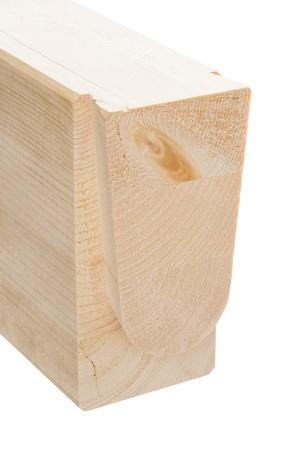 maschine: timber beam Stock Photo
