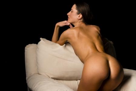 naked woman: эротический Фото со стока