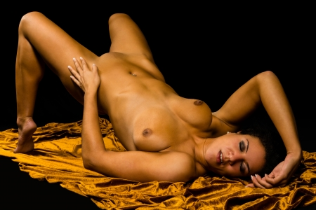 naked breast: erotic