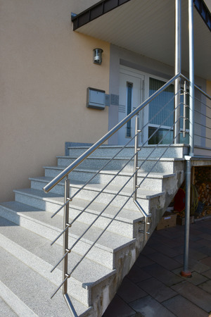stainless steel handrail photo
