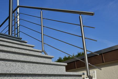 handrail: stainless steel handrail