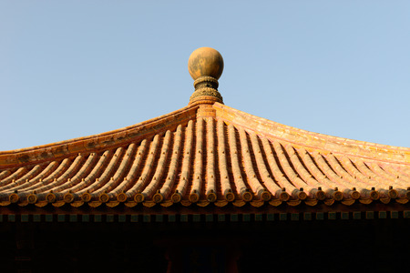 Partial of Chinese Roof photo