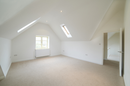 home addition: Empty Bedroom In Modern House
