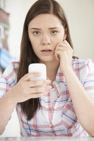 17 year old: Teenage Girl Victim Of Bullying By Text Message