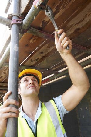 andamio: Generador de poner encima del andamio