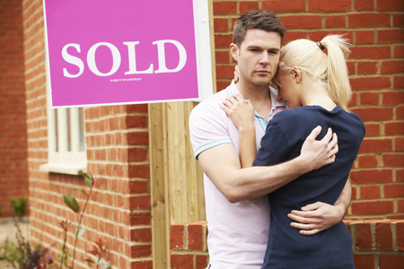 repossession: Young Couple Forced To Sell Home Through Financial Problems