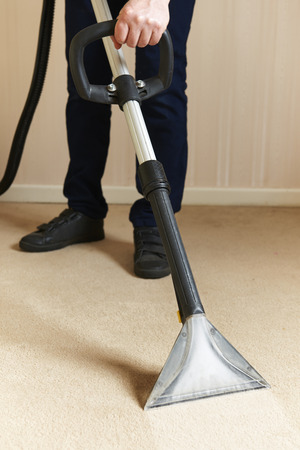 専門のカーペットのクリーニング
