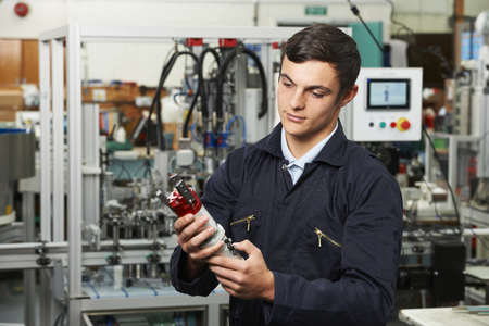 computerised: Trainee Checking Component In Factory