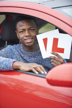 boy 18 year old: Teenage Boy Passing Driving Test