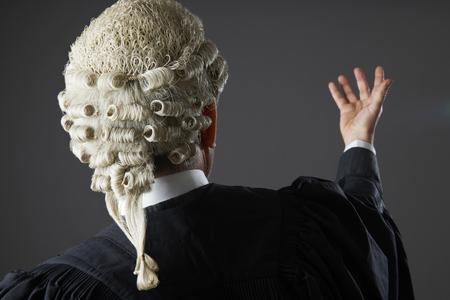 slander: Barrister Making Speech In Court