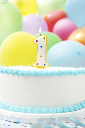 1st birthday: Cake Celebrating 1st Birthday