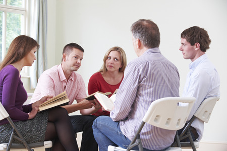 study: Meeting Of Bible Study Group