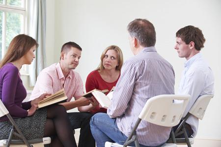 estudiando: Reunión del Grupo de Estudio de la Biblia