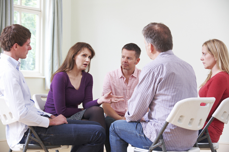 Meeting Of Support Group Stock Photo - 49426323