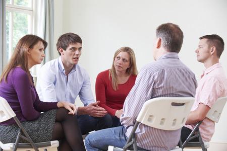 grupos de personas: Reunión del Grupo de Apoyo